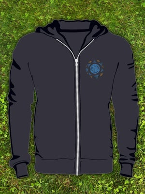 "Image of Limited Edition ""Restless Spirit"" Full Zip-Up Hoodie (Unisex)"
