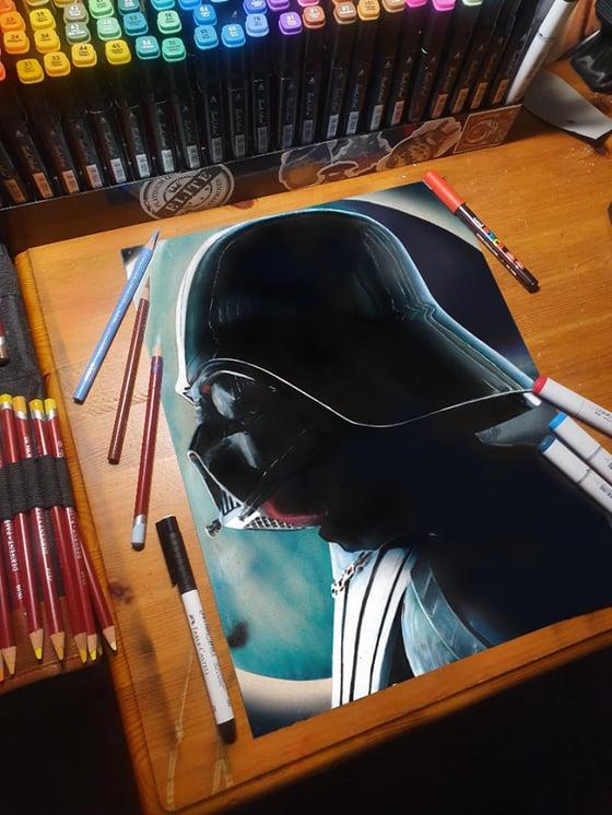 Image of Darth Vader (A3 Print )