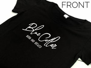 Image of BORN AND BREWED WOMENS T-SHIRT