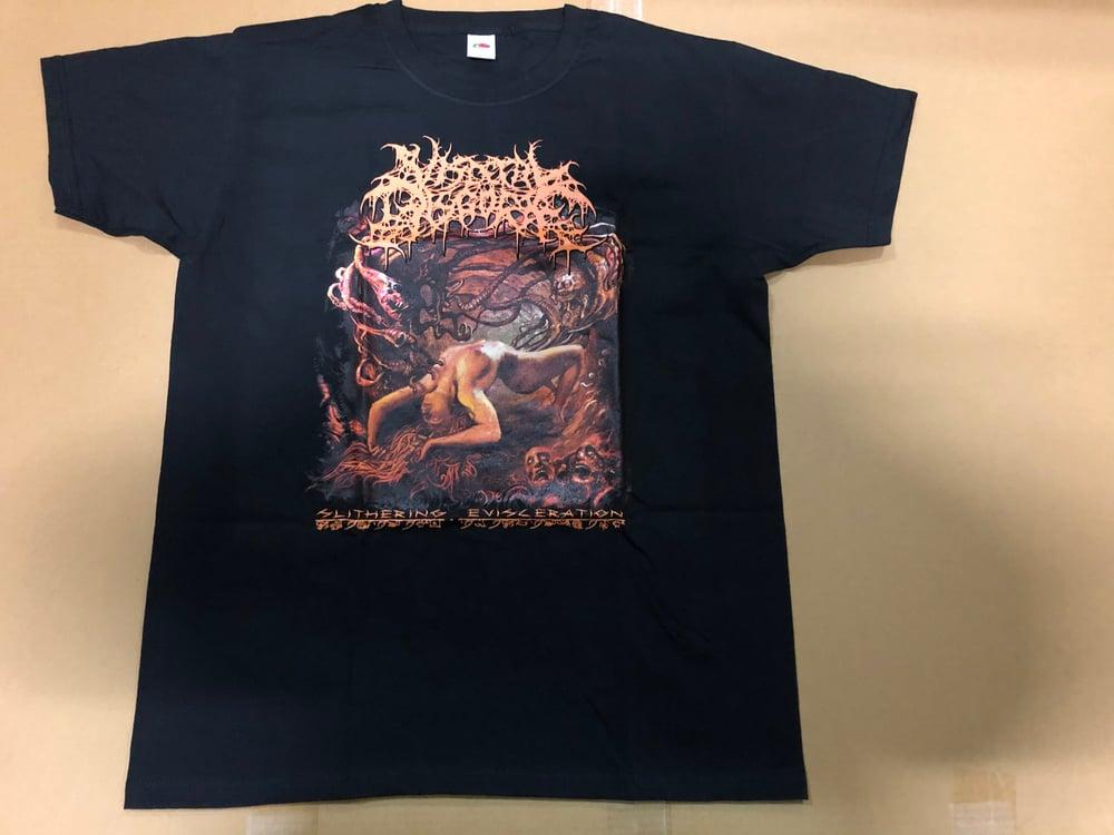 VISCERAL DISGORGE - Slithering Evisecration T-Shirt