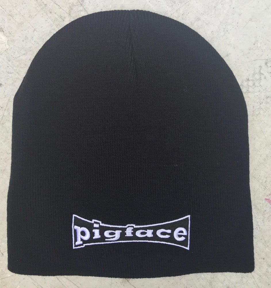 Image of Pigface Black Beanie