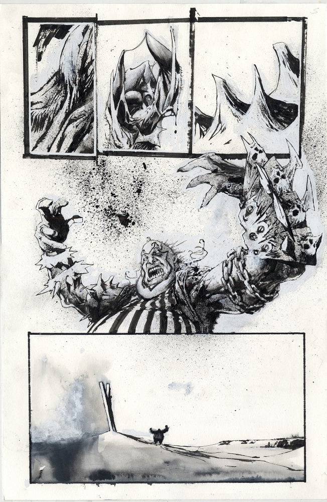 Image of Spawn Original Art page 5, issue 295