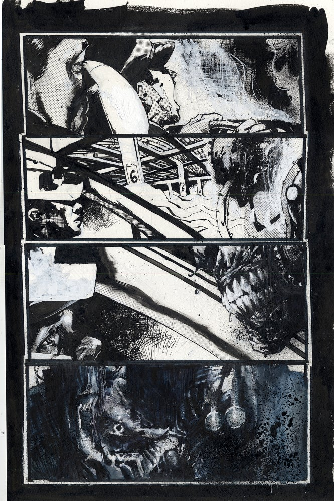 Image of Spawn Original Art page 2, issue 289