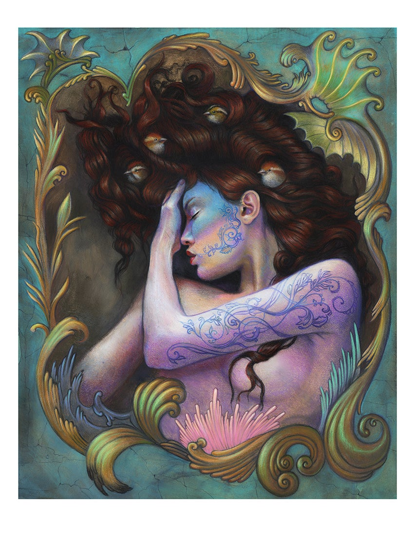 """Image of """"Clarimonde"""" Limited edition print"""