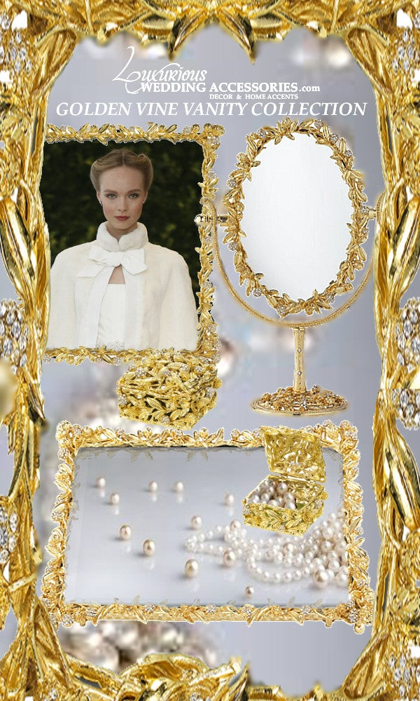 Image of Golden Vine Vanity Collection