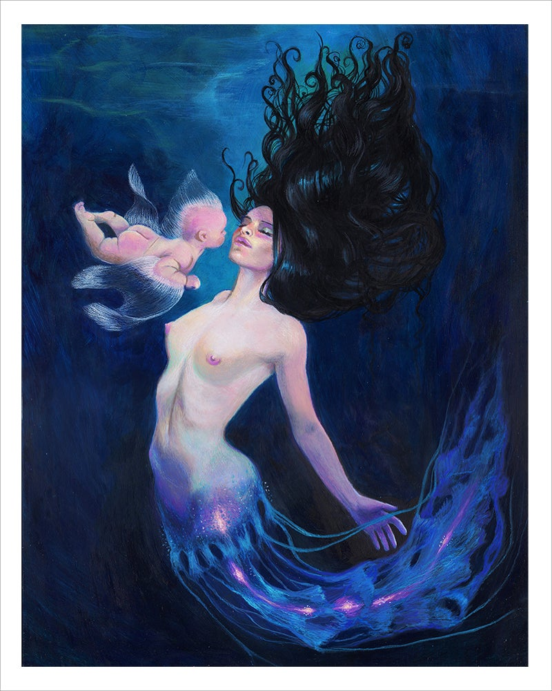 """Image of """"Medusa's Dream"""" Limited edition print"""