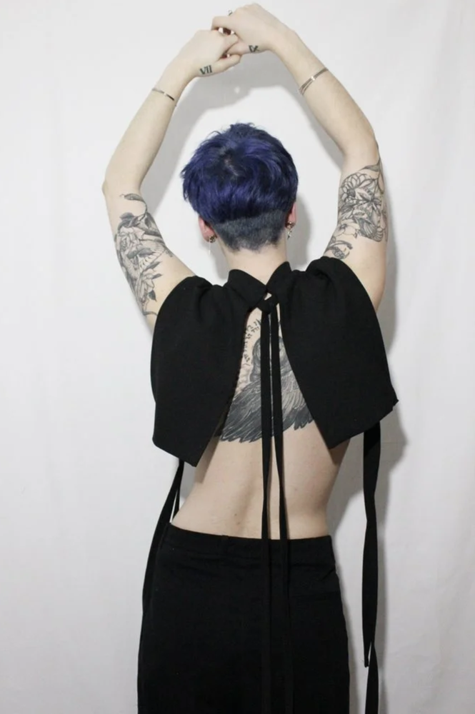 Image of Tie Crop Top