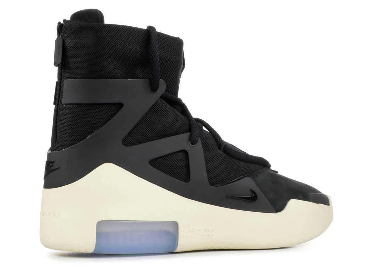 "NIKE AIR FEAR OF GOD 1 ""BLACK"""
