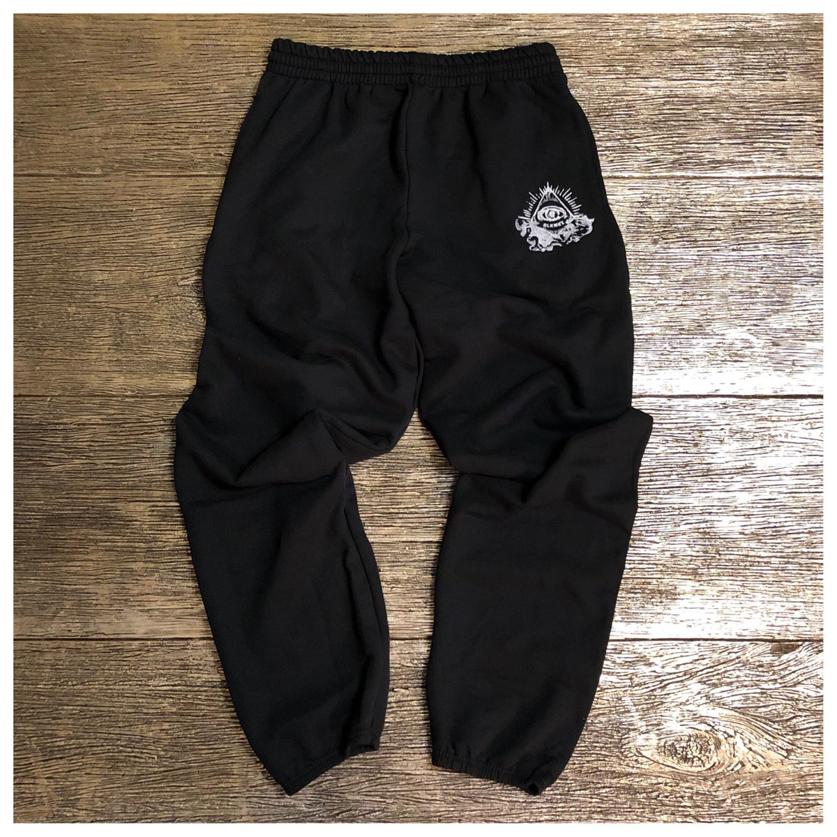 "Image of Organic Cotton ""Ski-Mask Angels"" Jogger Set"
