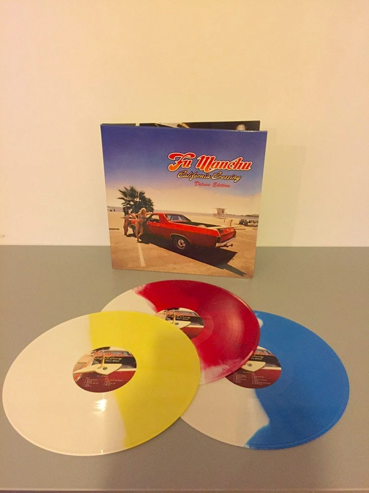 "Image of Fu Manchu 2017 ""California Crossing"" 3LP reissue"