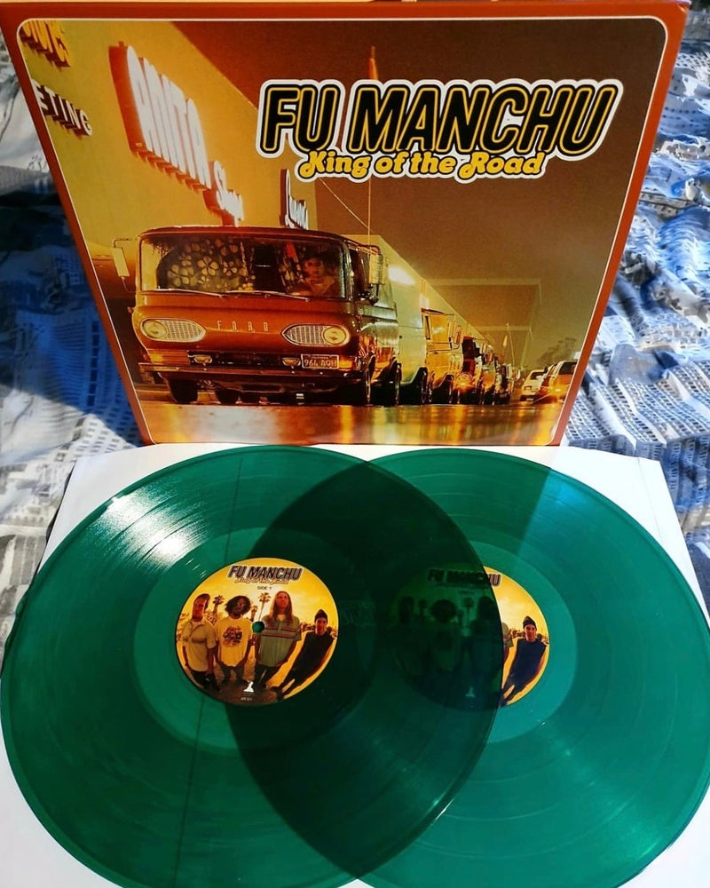 """Image of FU MANCHU """"King Of The Road"""" DOUBLE VINYL"""