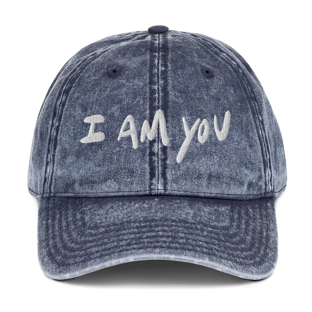 """Image of """"I am you"""" Dad Hat Navy"""