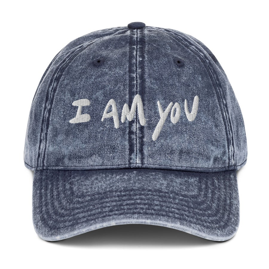 "Image of ""I am you"" Dad Hat Navy"