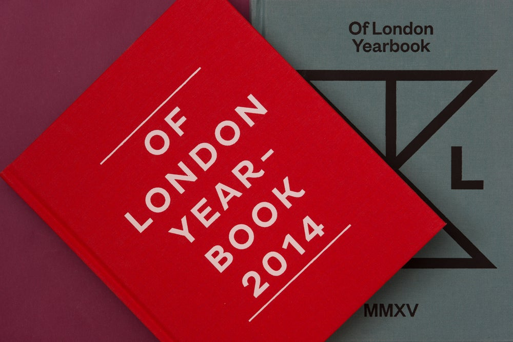 Of London Yearbooks - Anti Brexit pack -