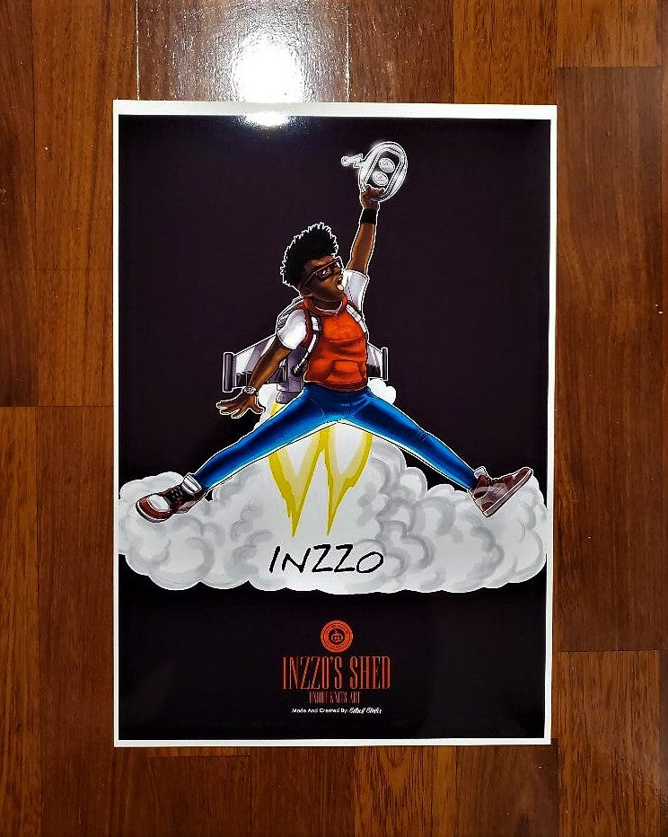 Image of Jumpman Inzzo Poster 13x19