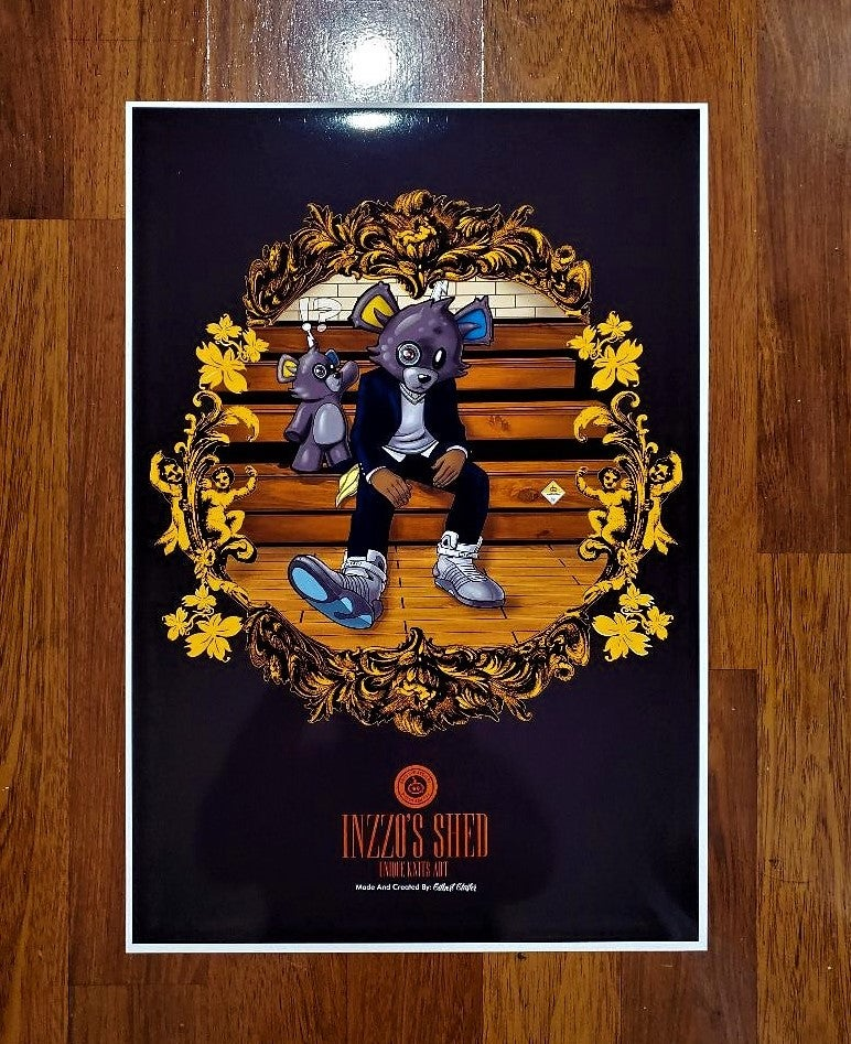 Image of Inzzo's College Dropout Poster 13x19 Poster