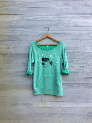 Image of Christmas Sweatshirt in Green