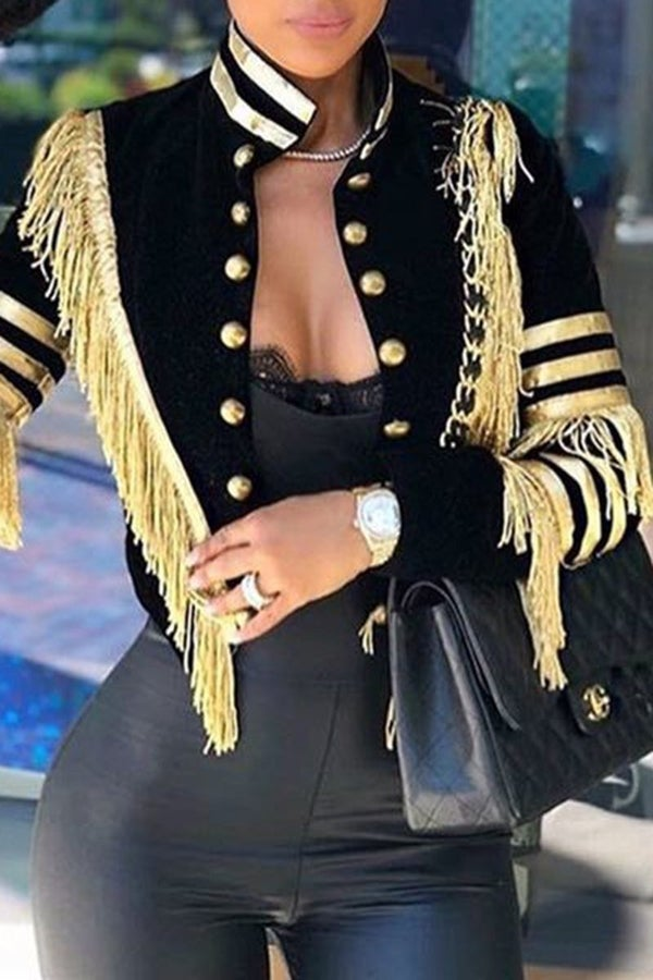 Image of Luxe Military Jacket