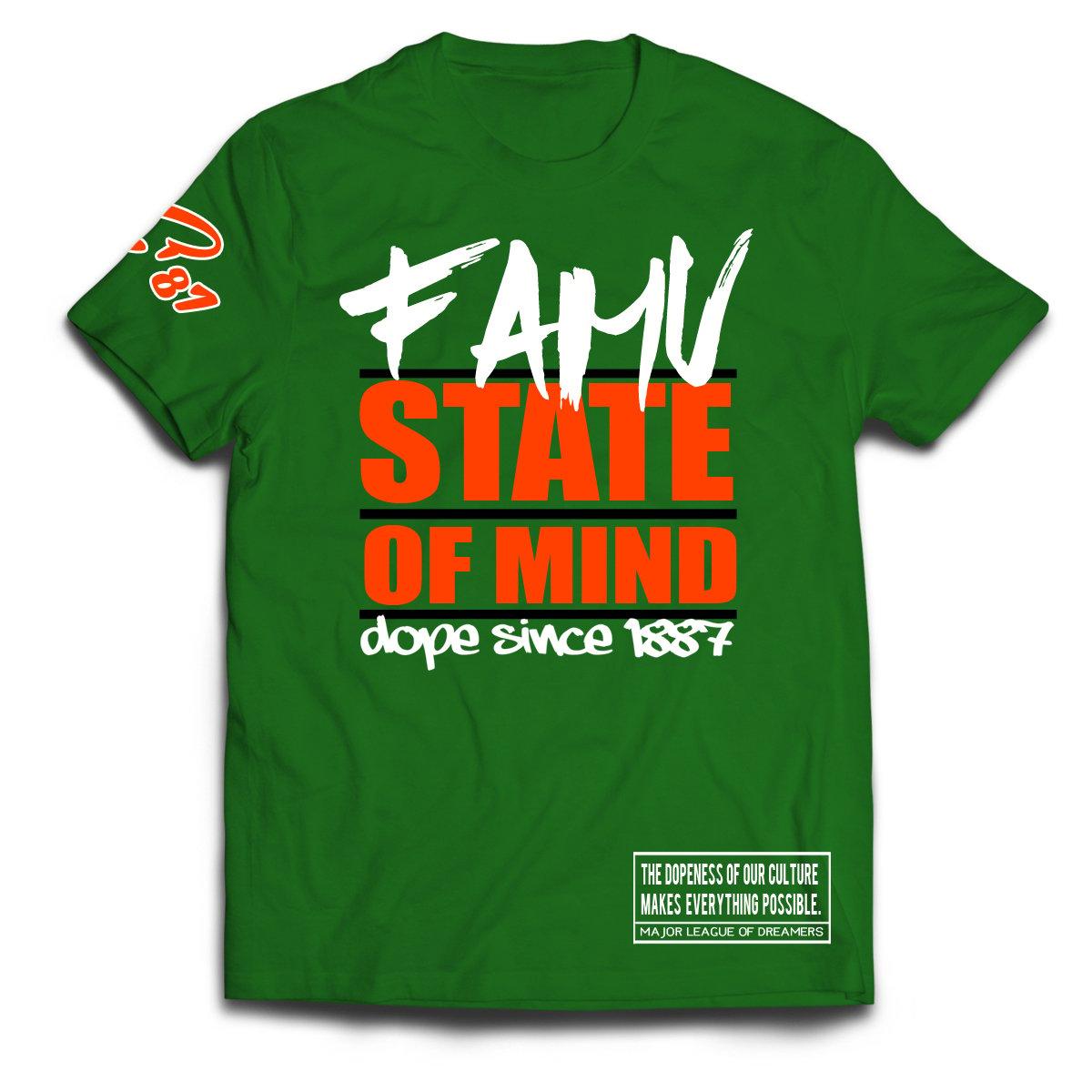 Image of FAMU STATE OF MIND T-SHIRT