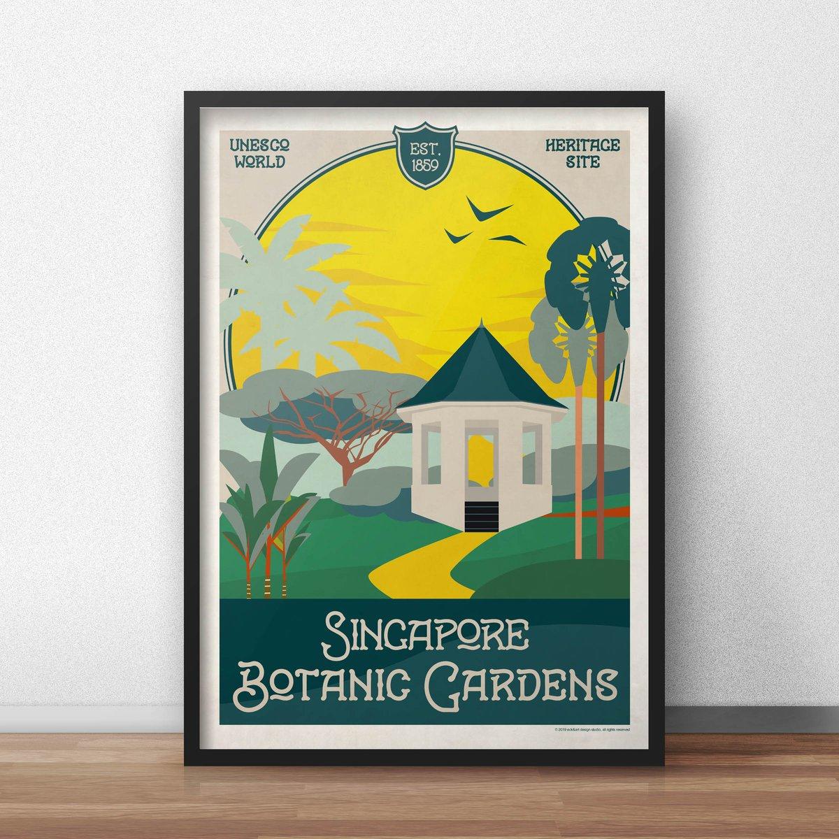 Image of Botanic Gardens Poster