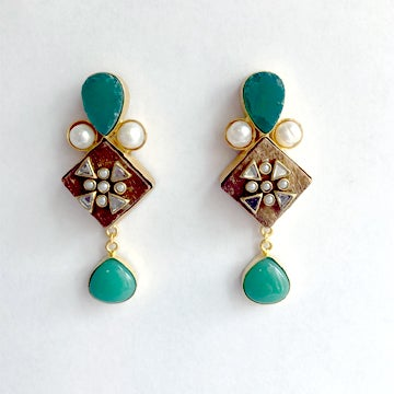 Image of Kundan Earrings
