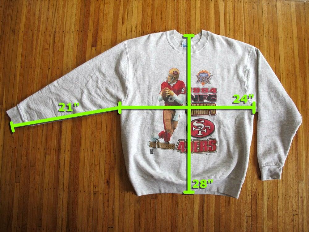 Image of Vintage 49ers Steve Young Sweatshirt by SALEM