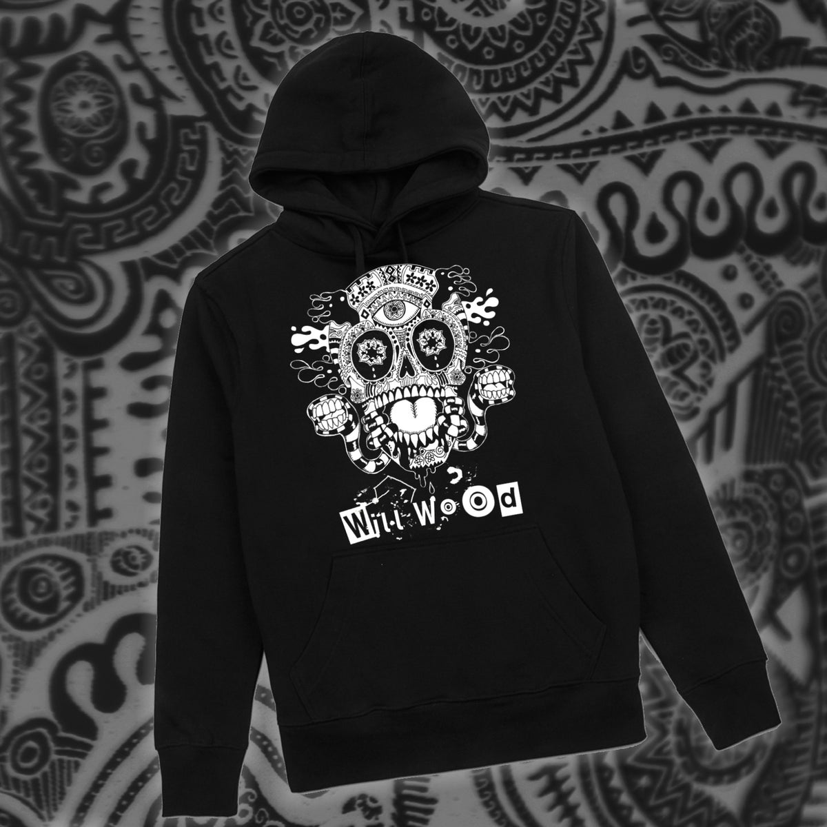 HOST SKULL HOODIE (ITS BACK!)