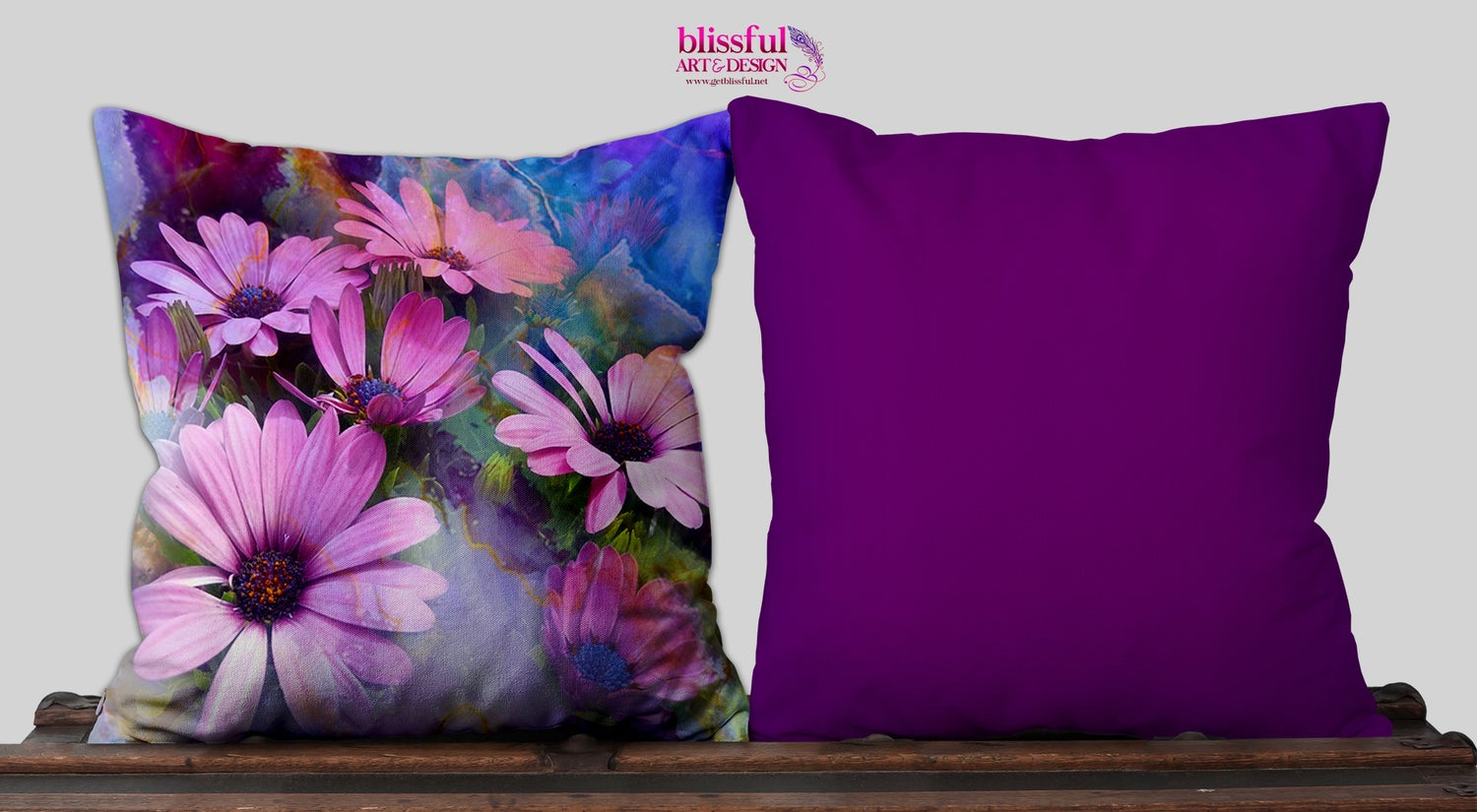 Image of Abba's Flowers - Pillow