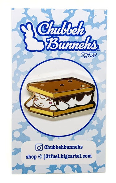 Image of S'mores Enamel Pin