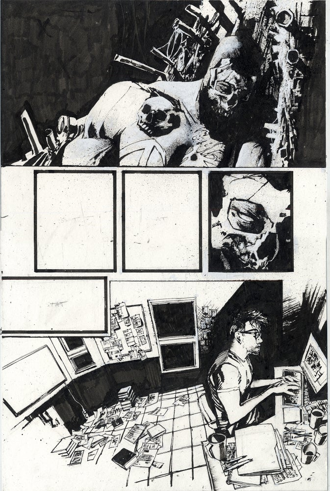 Image of Spawn Original Art page 20, issue 290