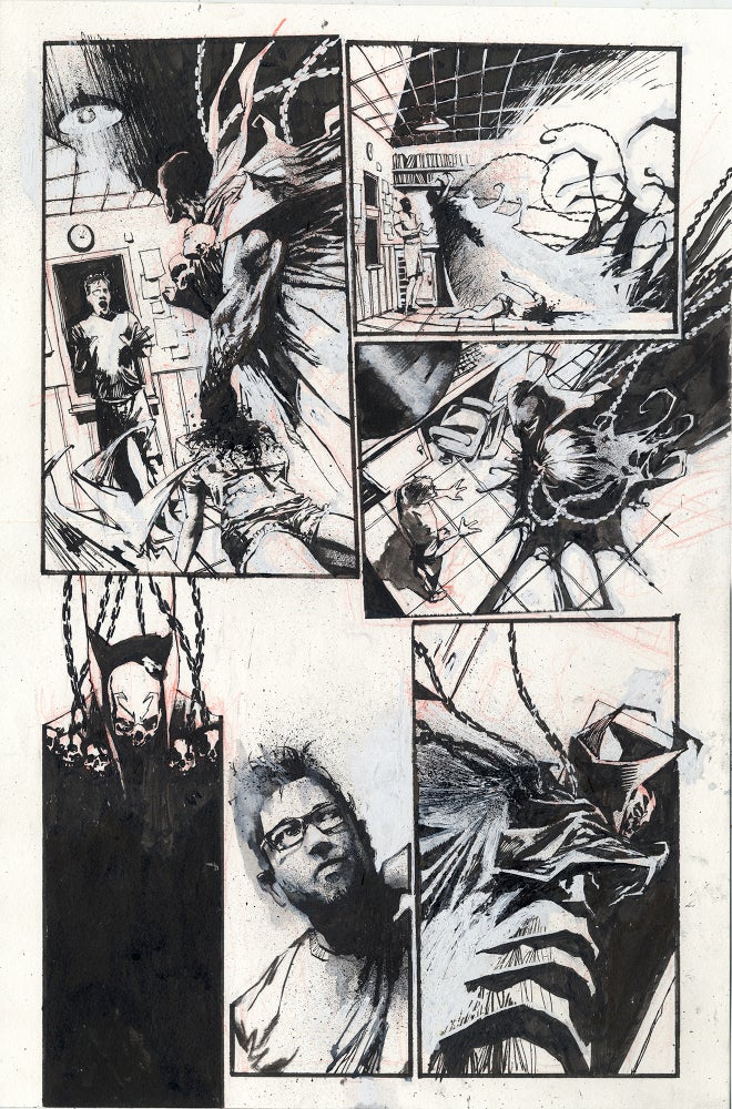 Image of Spawn Original Art page 15, issue 289