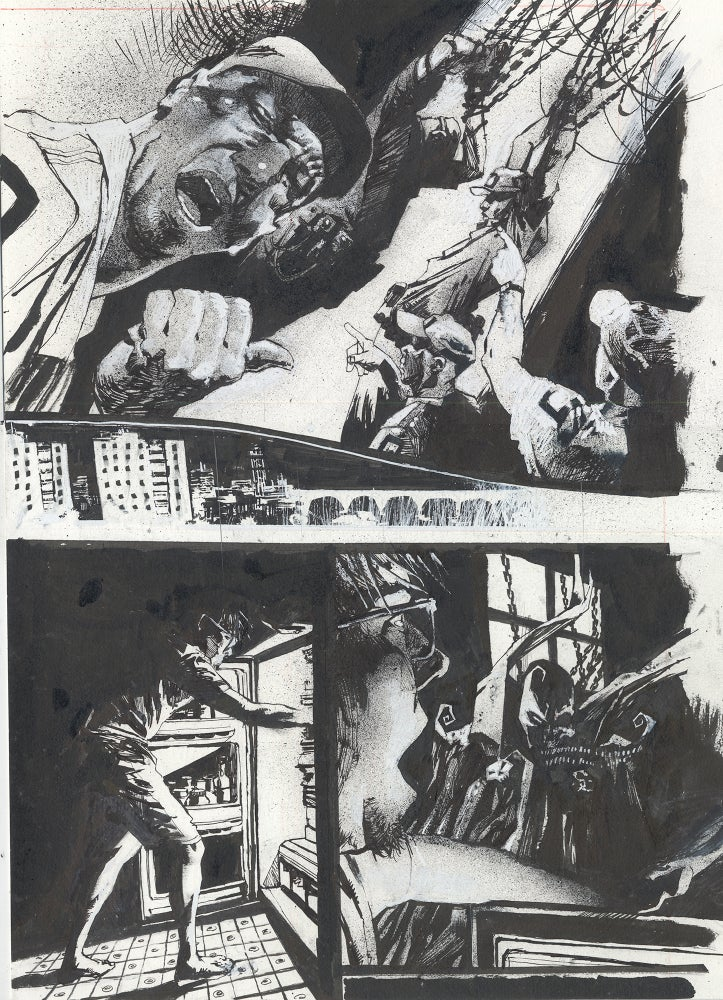 Image of Spawn Original Art page 8, issue 287
