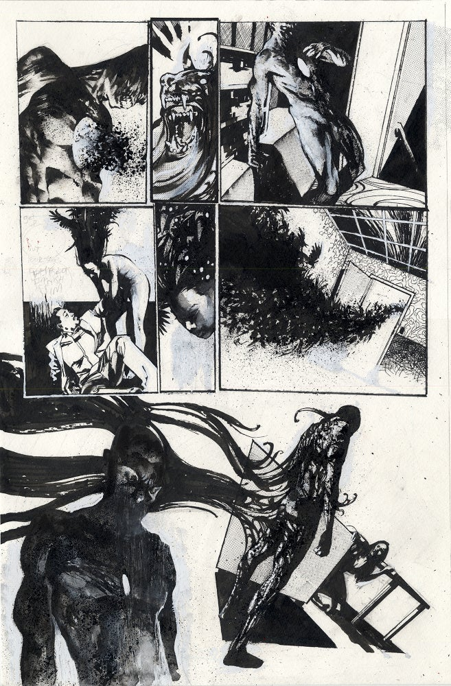 Image of Spawn Original Art page 4, issue 278
