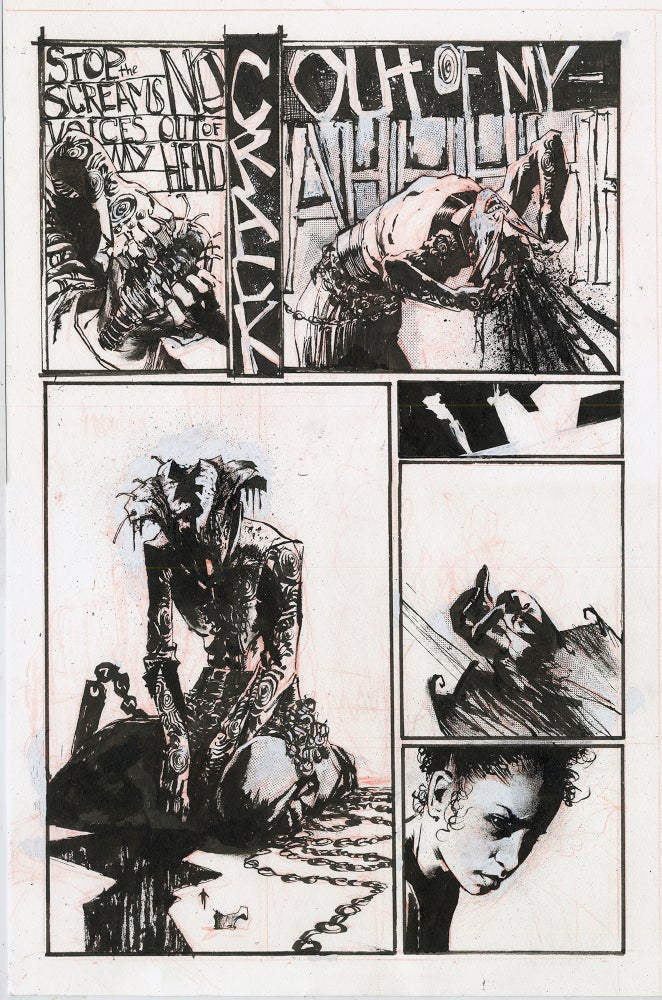 Image of Spawn Original Art page 16, issue 282