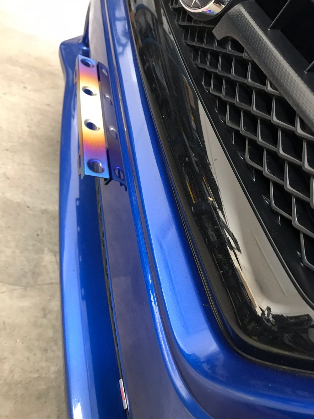 Subaru 2015+  titanium front mount license plate bracket kit