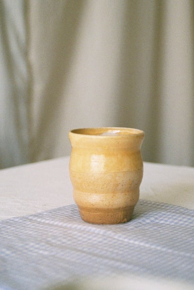 "Image of <span style=""color: #f4cccc;""> NEW</span> Yellow Cup by Sigrid Volders"