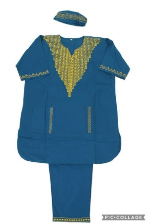 Image of African Queen Luxury Pant Suit