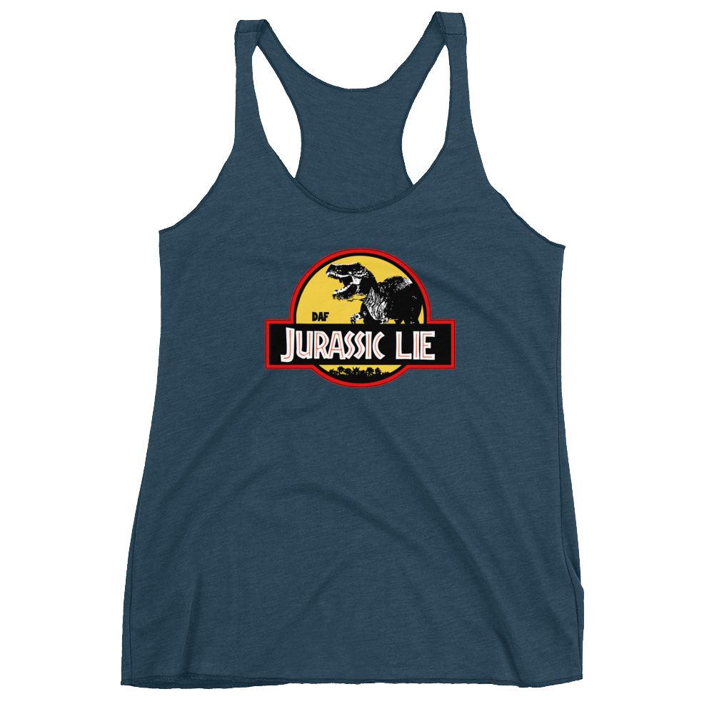 Image of Women's Jurassic Lie Next Level Tank
