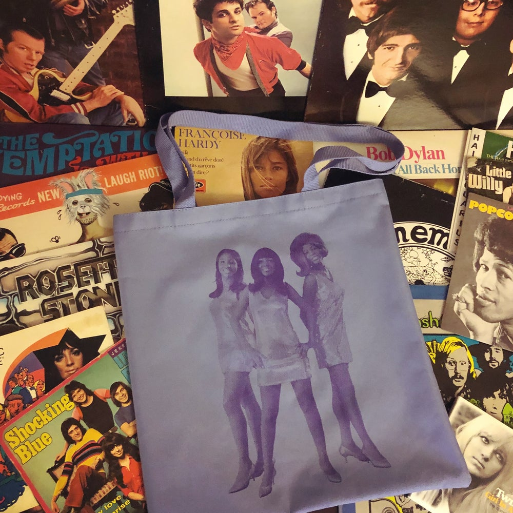 Image of THE FLIRTATIONS tote bag