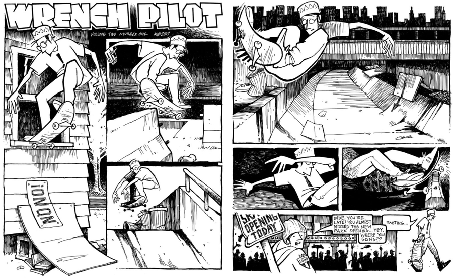 Image of ORIGINAL ART, WRENCH PILOT VOL 2 #1