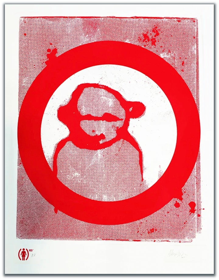 Image of PRINT: (RED) Jenkins poster