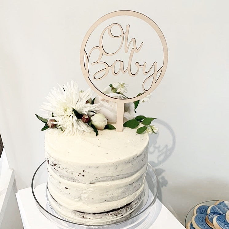Image of Circle of Love Cake Topper