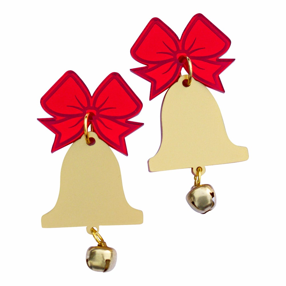 Image of Christmas Bell Earrings