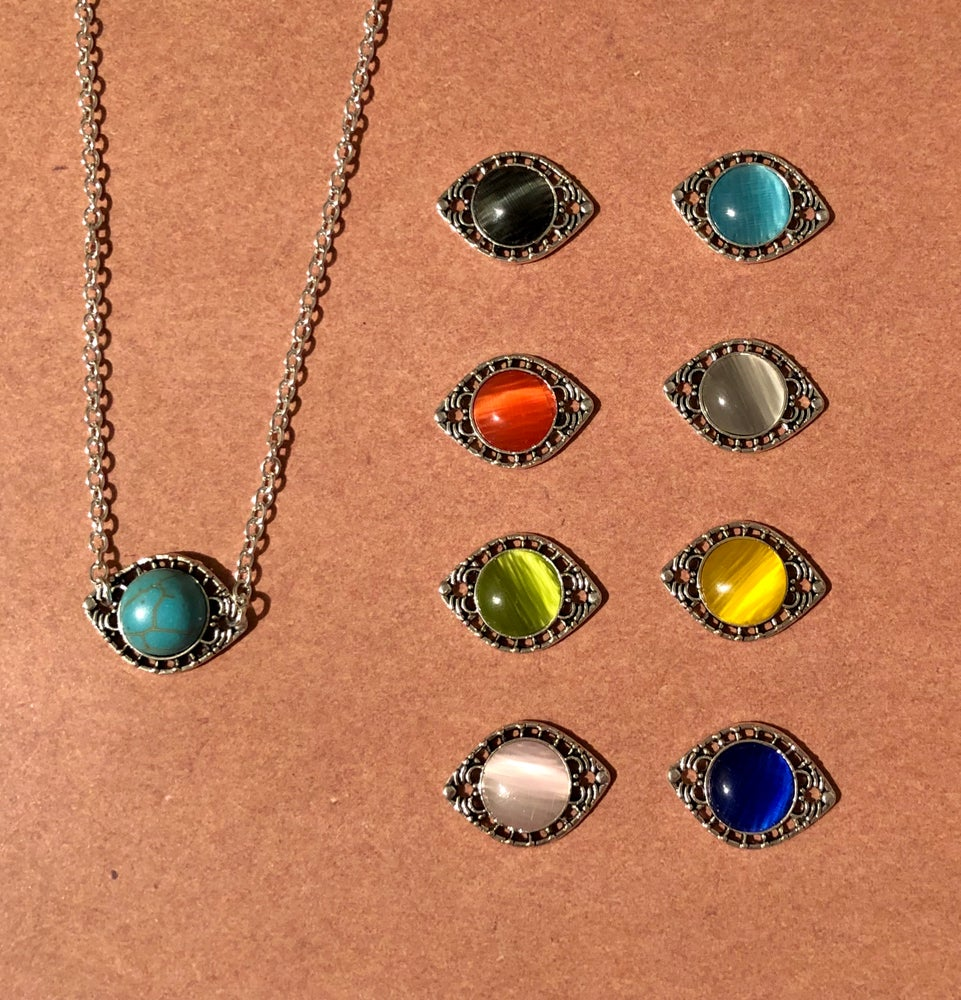 Image of Rainbow Connector Charm Necklaces - 3 styles