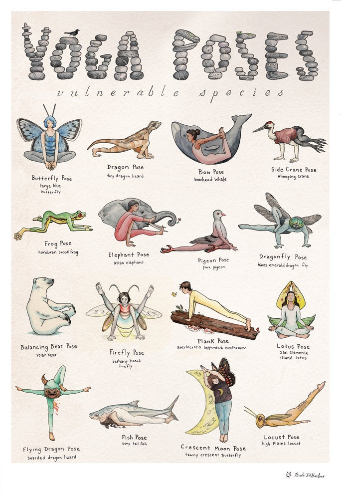 Image of Vulnerable Species Yoga Poses
