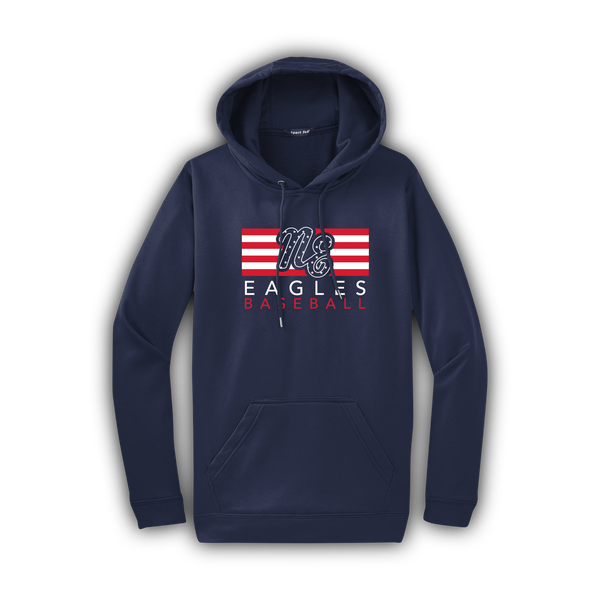 Image of Youth Eagles Flag Hoodie