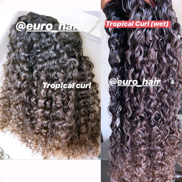Image of TROPICAL CURLY INDIAN HAIR EXTENSIONS
