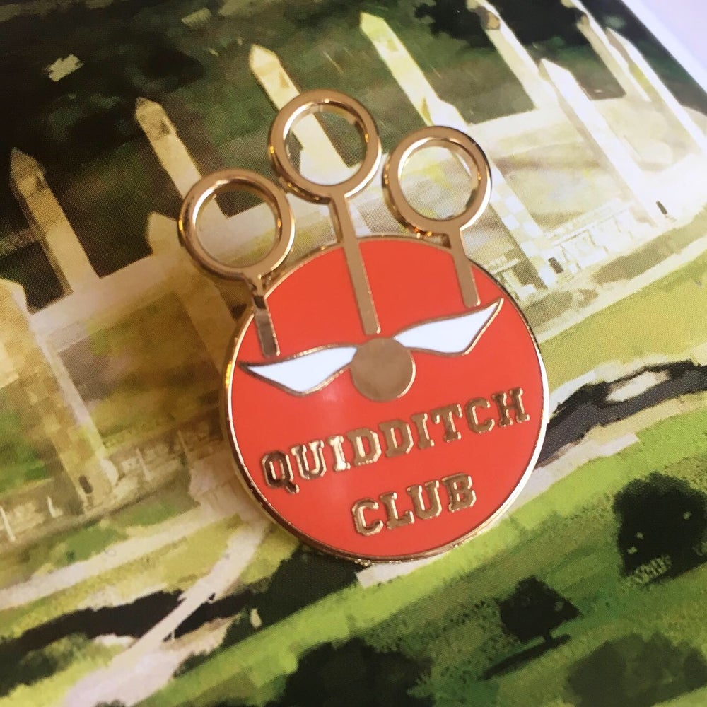 Image of Quidditch Club Pin