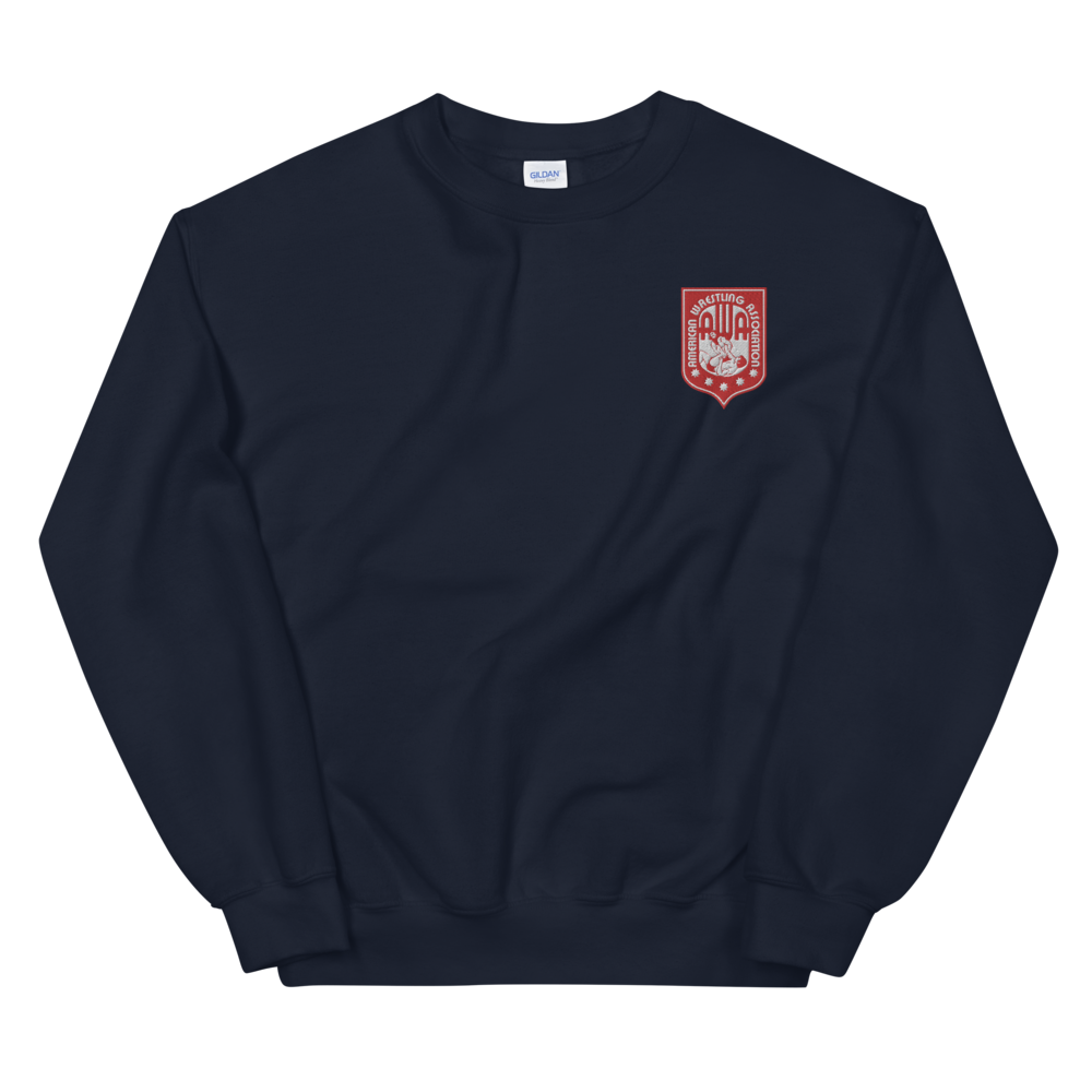 Image of AWA Embroidered Logo Crewneck