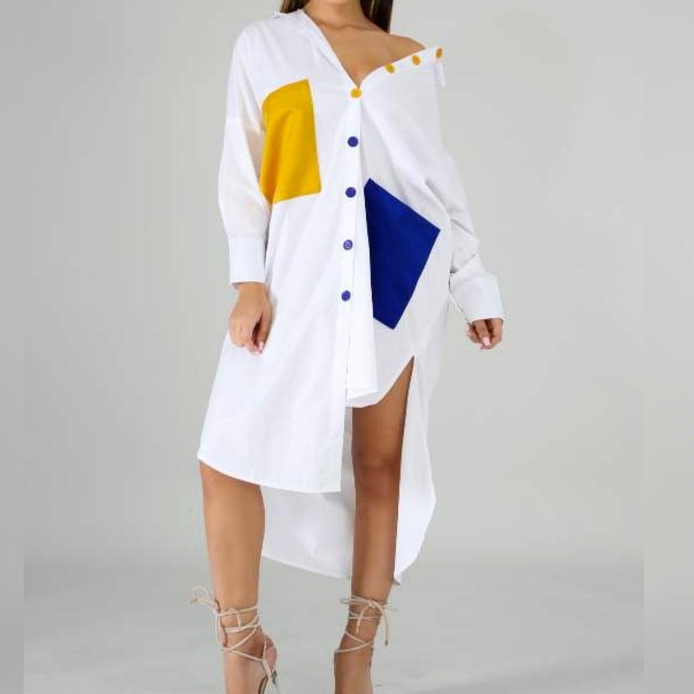 Image of Melissa Shirt Dress